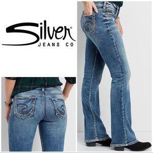 Silver Jeans Plus Suki Boot Cut Size 22